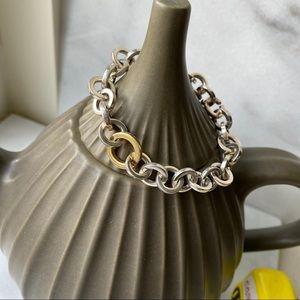 🛍 Tiffany & Co. Silver Round Chain Bracelet